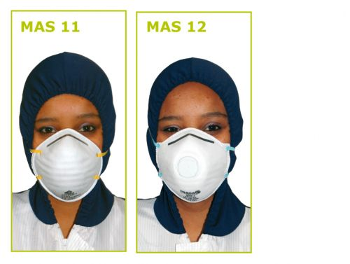 STOFMASKERS ROND - 15ST